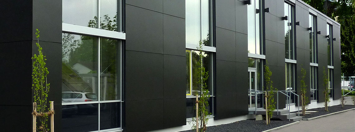 LINIT Balustrade & façade elements with laminate facings