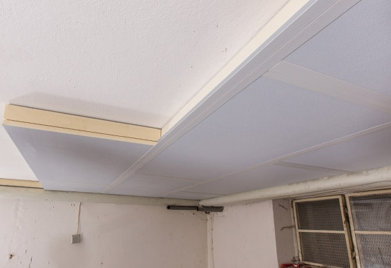 Insulation of cellar ceilings