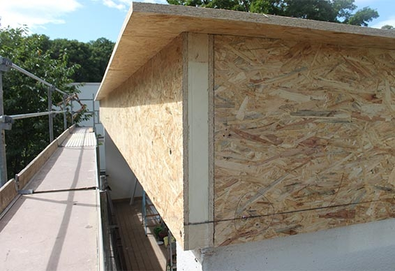 LITEC Attika element - For a safe, free of thermal brigdes roof parapet constuction of insulated flat roofs