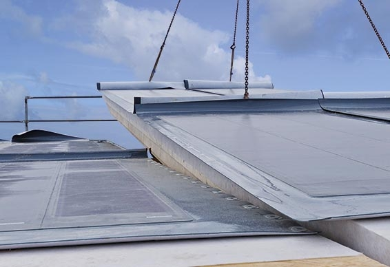 LITEC energy roof - The customized building system for ridged and monopitch roofs