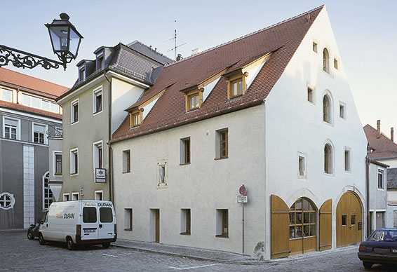 """Kulturstadl"" venue in Amberg, Germany—a historic gem"